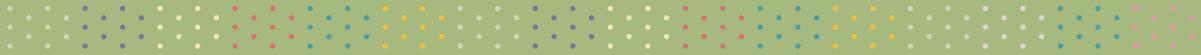 カラフルな水玉の無料罫線