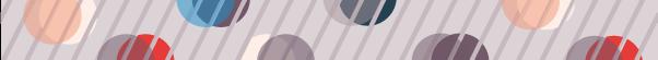 ストライプと丸の組み合わせライン素材