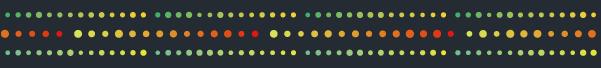 グラデーションの丸の罫線素材