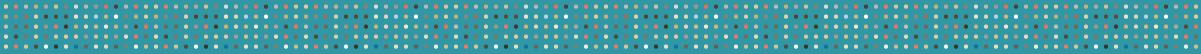 カラフルな水玉の無料罫線 3