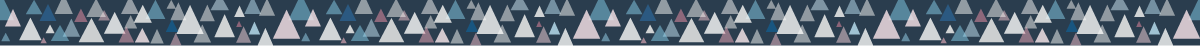 カラフルな三角の組み合わせマスキングテープライン