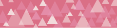 パステル系の三角の組み合わせライン素材