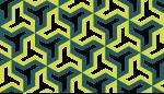 六つ手卍のライン素材2
