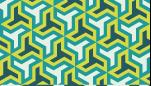 ビビットな色合いの六つ手卍のライン素材