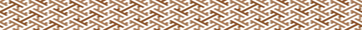紗綾形の無料罫線ライン素材
