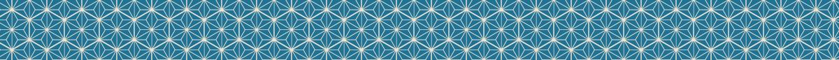 シンプルな麻の葉模様の罫線素材