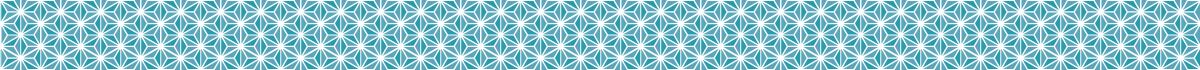 パステルカラーの麻の葉和柄の無料ライン