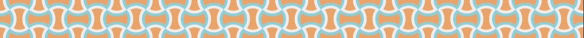カラフルな分銅繋ぎ模様のパターンライン素材 1