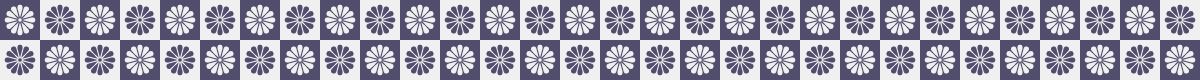 菊格子の罫線ライン素材 3