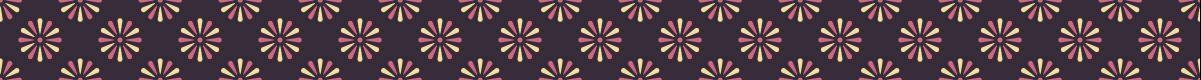 和風の罫線模様 菊の模様のマスキングテープライン