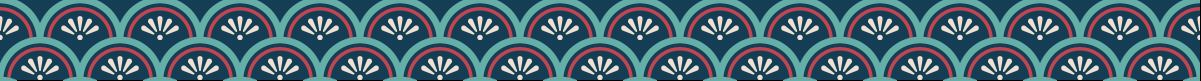 花青海波のマスキングテープライン 2