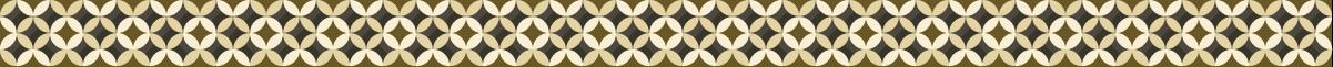 高級感のある七宝繋ぎの罫線素材
