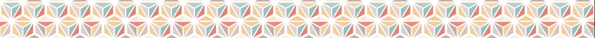 セール系のライン素材として使えそうな麻の葉模様の罫線素材 2