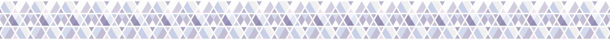 三角の組み合わせの罫線素材 2