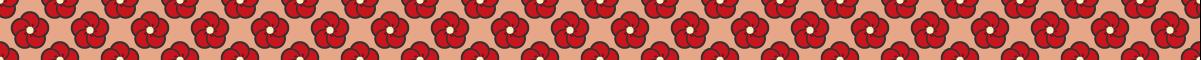 シンプルなねじ梅模様のライン素材 2