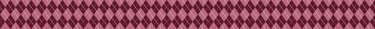 ツートンカラーのアーガイル柄の罫線ライン素材 2