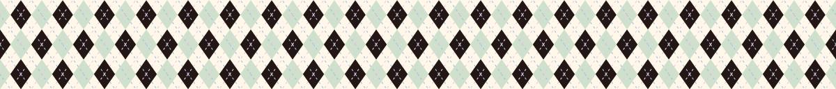 カラフルなアーガイルの罫線ライン素材 2