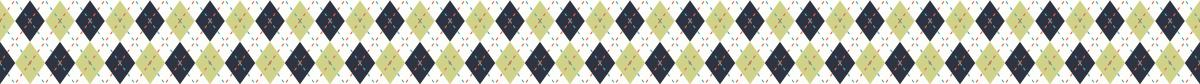ビビットな色合いのアーガイルの罫線ライン