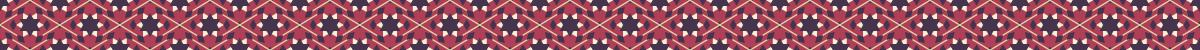六角星の組み合わせライン素材