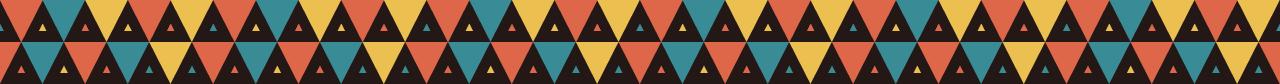 カラフルな三角の組み合わせマスキングテープライン 3