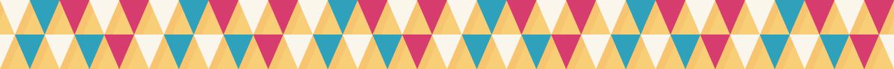 カラフルな三角の組み合わせマスキングテープライン 5