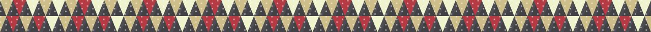 カラフルな三角の組み合わせマスキングテープライン 6