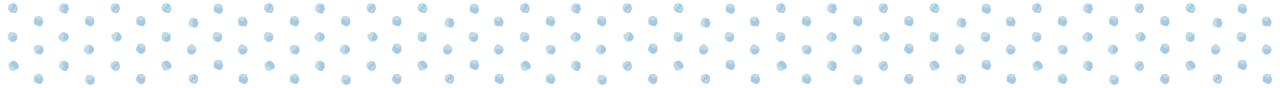手書き風の水玉のマスキングテープライン素材 1