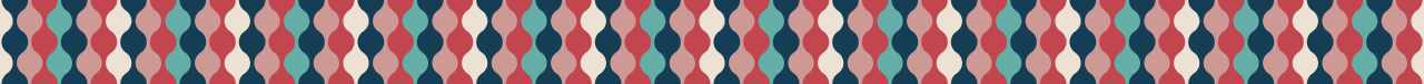 カラフルな丸の組み合わせ罫線素材